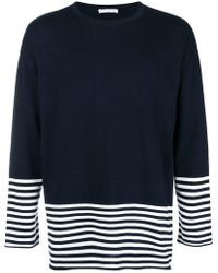 Societe Anonyme - Striped Detail Jumper - Lyst