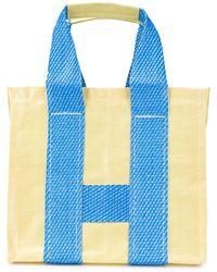 Comme des Garçons Shopper Tote Bag - Yellow