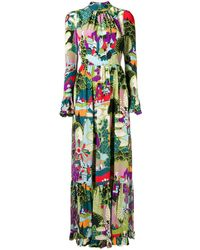 LaDoubleJ - Scenery Print Dress - Lyst