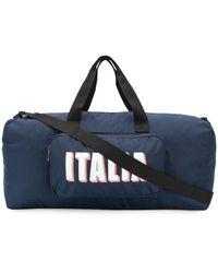 EA7 Italia ボストンバッグ - ブルー