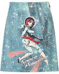 Pinko Space Program スカート - ブルー