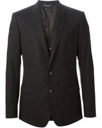 Dolce & Gabbana クラシック 3ピース スーツ - ブラック