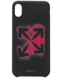Off-White c/o Virgil Abloh - Чехол Stencil Для Iphone Xs Max - Lyst