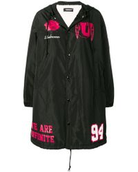 Undercover - Buttoned Up Raincoat - Lyst