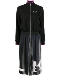 Karl Lagerfeld Плиссированное Платье Rue St Guillaume - Черный