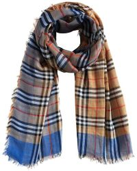 Burberry - Vintage Check Square Scarf - Lyst