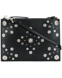 Versus - Medusa Studded Clutch Bag - Lyst