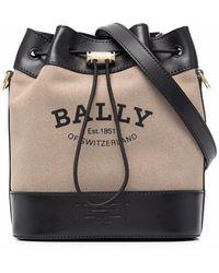 Bally Bolso bombonera Cleoh - Marrón