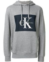 Calvin Klein Jeans | Logo Hoodie | Lyst