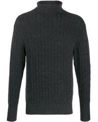 N.Peal Cashmere タートルネック セーター - ブラック