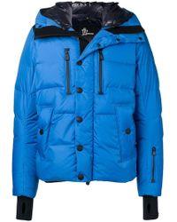 15dd98c7ca059 Lyst - Moncler Grenoble Padded Jacket in Blue for Men
