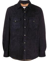 Brunello Cucinelli ダブルポケット シャツ - ブラック