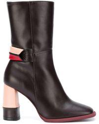Paloma Barceló - Block Heel Boots - Lyst