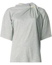 Y. Project スカーフ Tシャツ - グレー