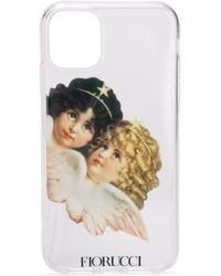 Fiorucci Angels Iphone 11 Case - White