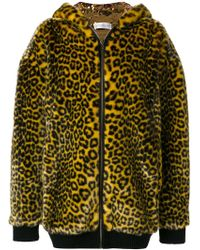 Faith Connexion - Leopard Print Coat - Lyst