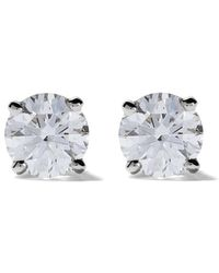 De Beers Platinum My First Db Classic Diamond Stud Earrings - Multicolour