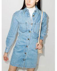 Nanushka - Джинсовое Платье-рубашка Daisy - Lyst