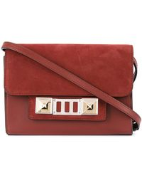 Proenza Schouler - Leather Nubuck Ps11 Wallet With Strap - Lyst
