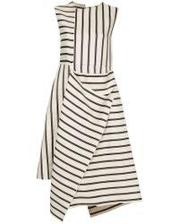 Astraet - Contrast Stripe Dress - Lyst