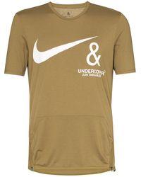 Nike Camiseta con detalle de bolsillo de x Undercover - Marrón