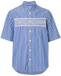 Sacai - Pinstripe Patterned Shirt - Lyst