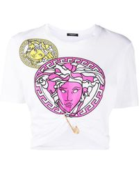 Versace - メデューサ Tシャツ - Lyst