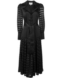 Alexis Juliska シアーパネル ドレス - ブラック
