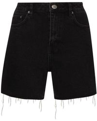 Ksubi - Pantalones vaqueros cortos de talle alto - Lyst
