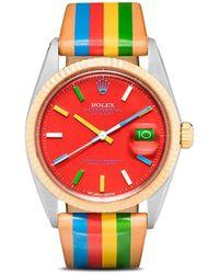 La Californienne Rolex Datejust Horloge - Meerkleurig