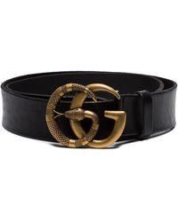 Gucci - Cintura con fibbia GG - Lyst