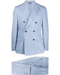 Dolce & Gabbana カジュアル ダブルスーツ - ブルー