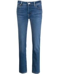 Levi's Mid Rise Skinny Jeans - Blue