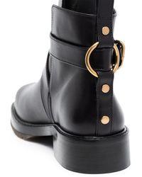 Chloé Ботинки С Пряжками - Черный