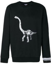 Lanvin - Sweat à imprimé dinosaure - Lyst