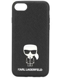 Karl Lagerfeld Чехол Ikonik Pin Для Iphone 8 - Черный