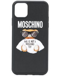 Moschino Teddy Iphone 11 Pro Max ケース - ブラック