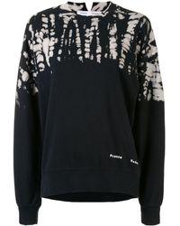 PROENZA SCHOULER WHITE LABEL タイダイ スウェットシャツ - ブラック