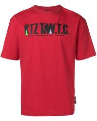 KTZ Mountain Letter T-shirt - Red