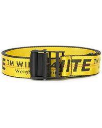 Off-White c/o Virgil Abloh - Contrast Logo Print Belt - Lyst