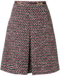 Gucci High-waisted A-line Skirt - Zwart