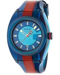 Gucci Reloj SYNC, 46 mm - Azul