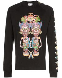 adidas - Tanaami Graphic Print Long-sleeved Cotton T-shirt - Lyst