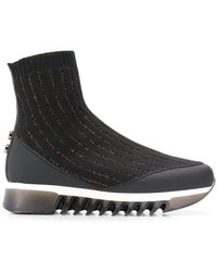 Alexander Smith - Sock Shaped Sneakers - Lyst