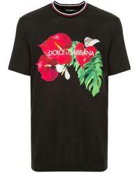 Dolce & Gabbana - トロピカル Tシャツ - Lyst