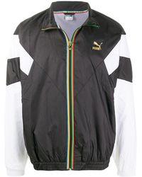 PUMA ロゴ ジャケット - ブラック