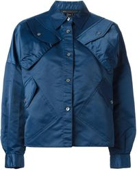 Marc Jacobs マルチポケット シャツジャケット - ブルー