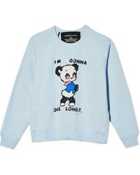 Marc Jacobs X Magda Archer The Collaboration Sweatshirt - Blue