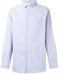 Natural Selection - Long Pocket Plain Shirt - Lyst