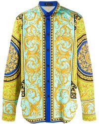 Versace Overhemd Met Print - Meerkleurig